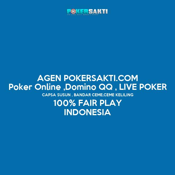 lenterapoker.Com agen poker dan domino on-line terpercaya indonesia