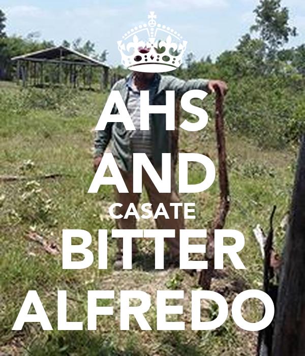 AHS AND CASATE BITTER ALFREDO