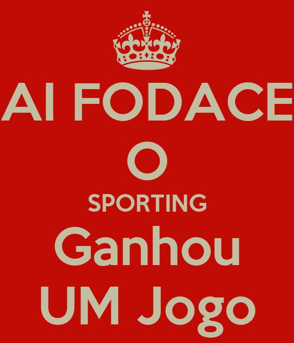 AI FODACE O SPORTING Ganhou UM Jogo