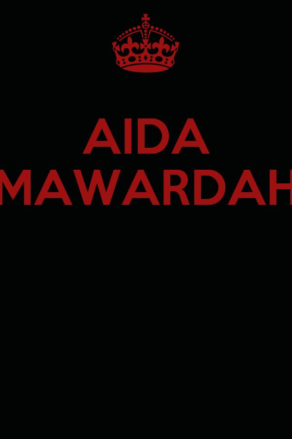 AIDA MAWARDAH