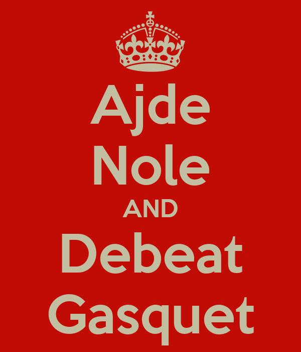 Ajde Nole AND Debeat Gasquet