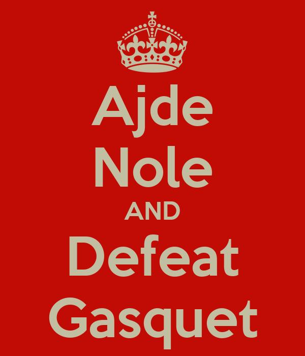 Ajde Nole AND Defeat Gasquet