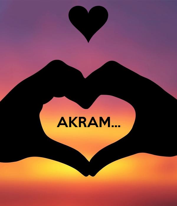 AKRAM...