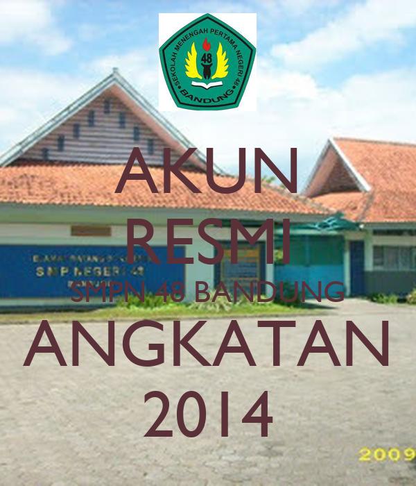 AKUN RESMI SMPN 48 BANDUNG ANGKATAN 2014