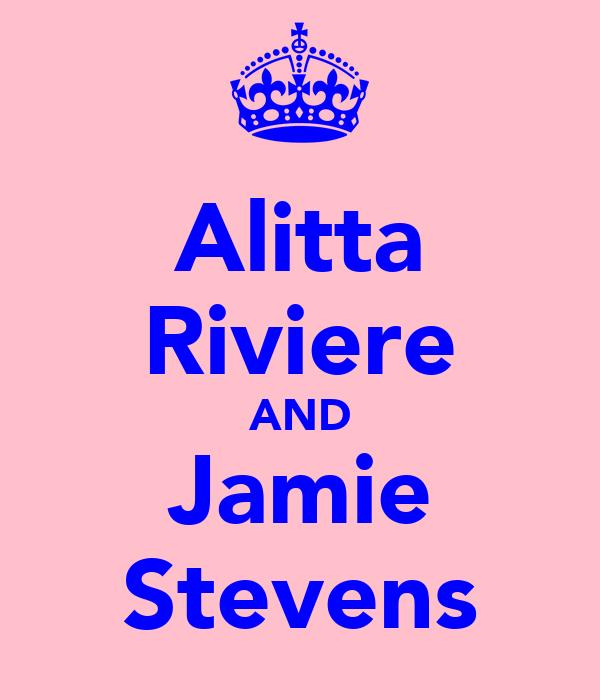 Alitta Riviere AND Jamie Stevens