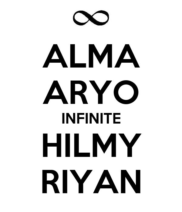 ALMA ARYO INFINITE HILMY RIYAN