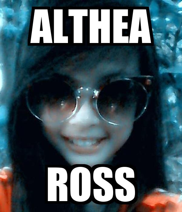 ALTHEA ROSS