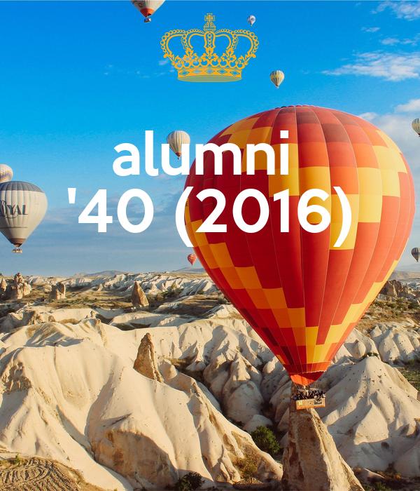 alumni  '40 (2016)