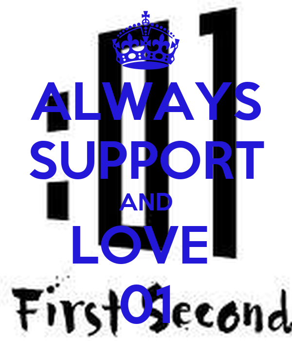 ALWAYS SUPPORT AND LOVE  01