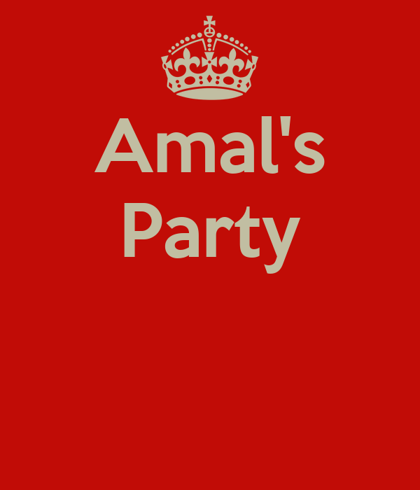 Amal's Party
