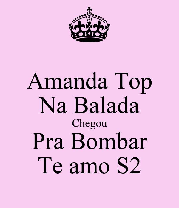 Amanda Top Na Balada Chegou Pra Bombar Te amo S2