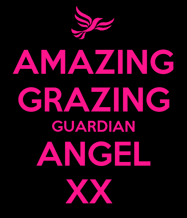 AMAZING GRAZING GUARDIAN ANGEL XX