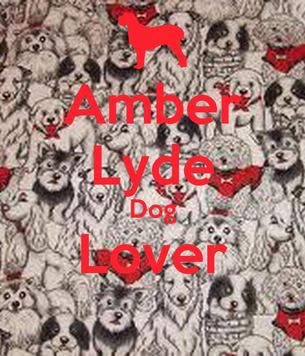Amber Lyde Dog Lover