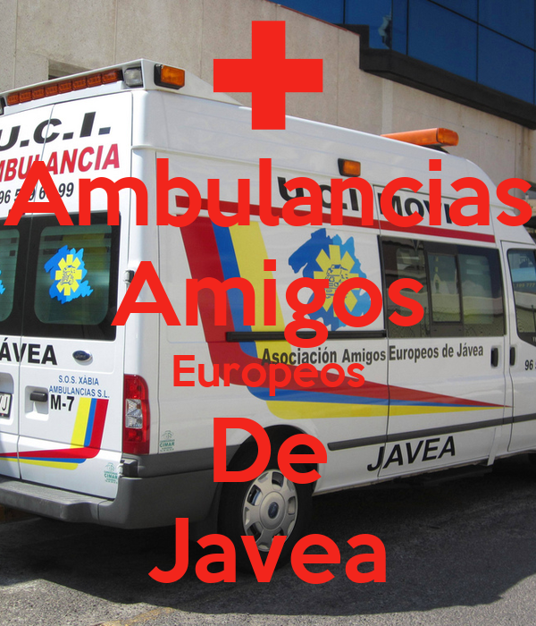 Ambulancias Amigos Europeos De Javea