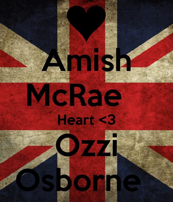 Amish McRae    Heart <3 Ozzi Osborne