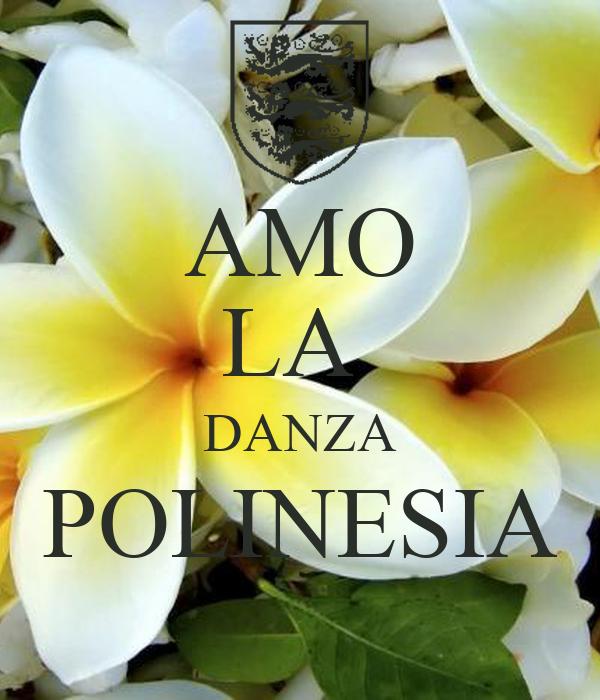 AMO LA  DANZA POLINESIA