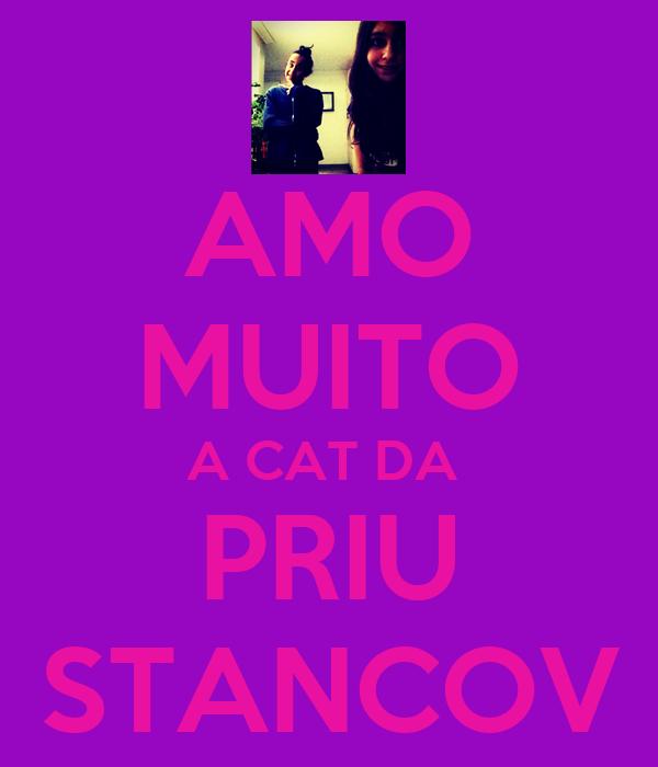 AMO MUITO A CAT DA  PRIU STANCOV