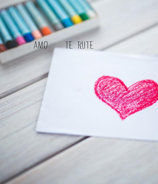 amo    te rute