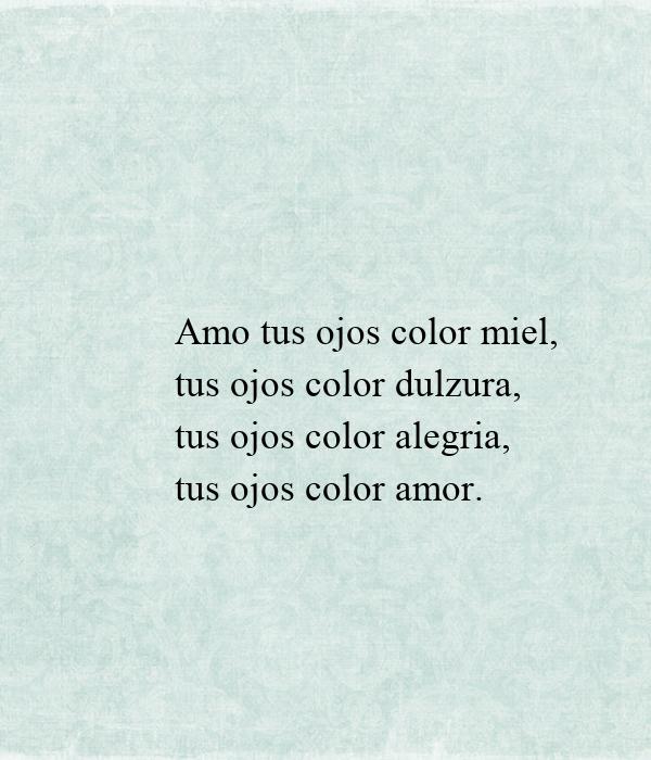 amo tus ojos color miel poster henrycortes10 keep calm o matic