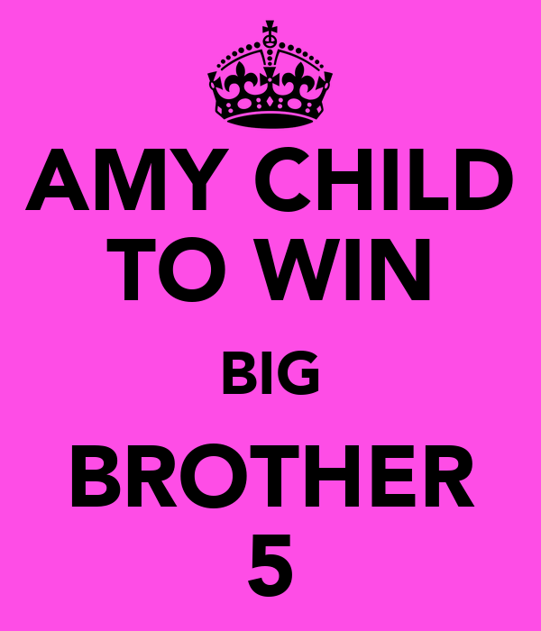 AMY CHILD TO WIN BIG BROTHER 5