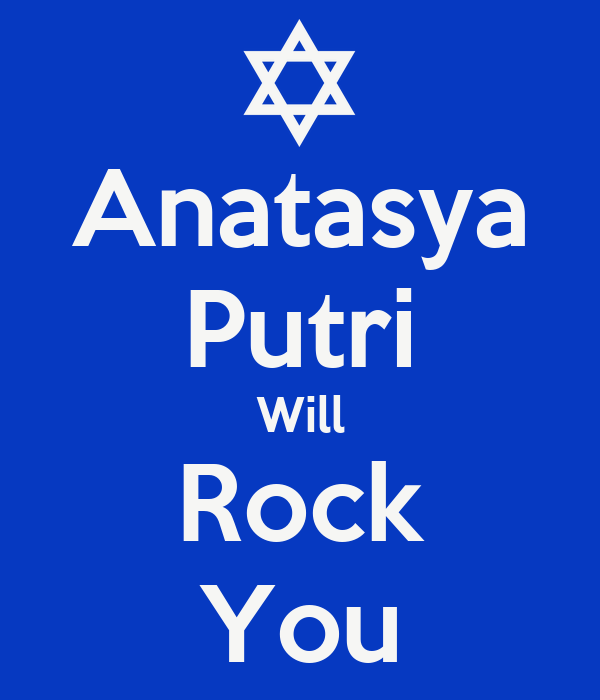 Anatasya Putri Will Rock You