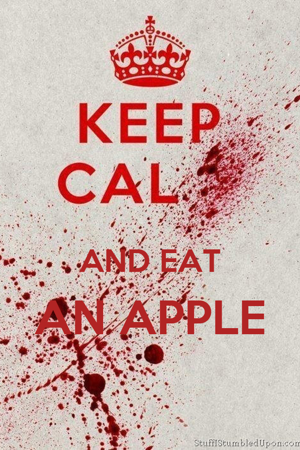 AND EAT AN APPLE