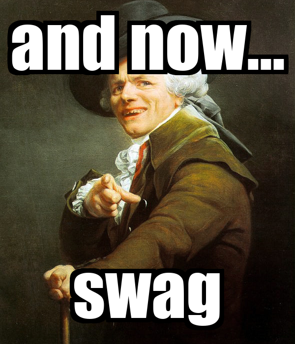 and now... swag