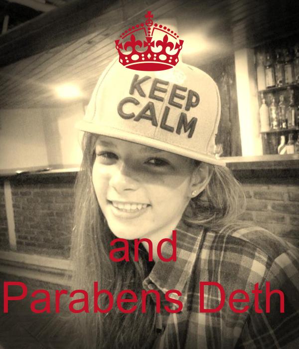 and  Parabens Deth