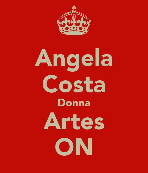 Angela Costa Donna Artes ON