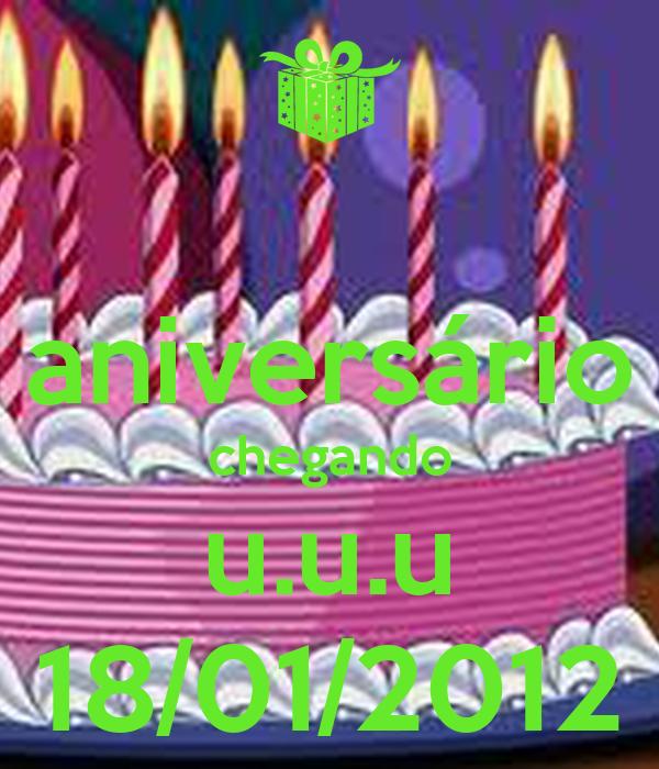 aniversário chegando u.u.u 18/01/2012