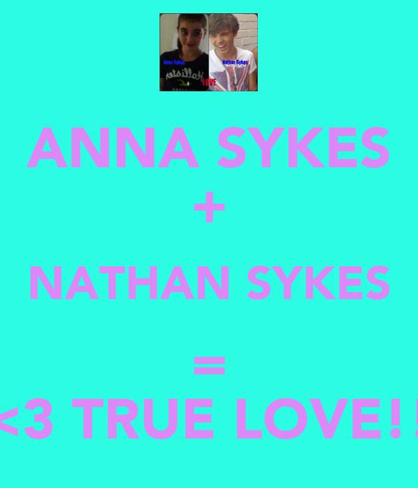ANNA SYKES + NATHAN SYKES = <3 TRUE LOVE!!