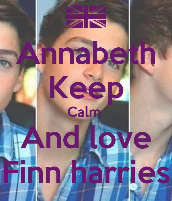 Annabeth Keep Calm  And love Finn harries