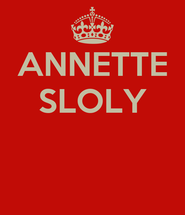 ANNETTE SLOLY