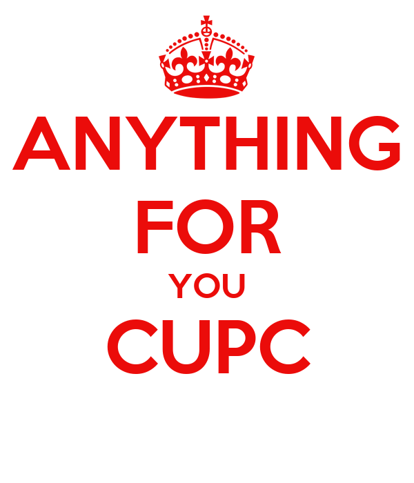 ANYTHING FOR YOU CUPC