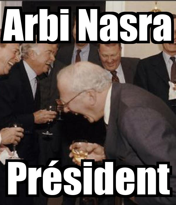 Arbi Nasra Président