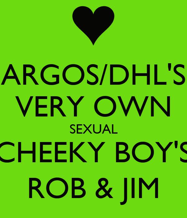 ARGOS/DHL'S VERY OWN SEXUAL CHEEKY BOY'S ROB & JIM