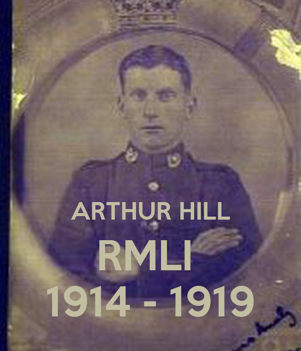 ARTHUR HILL RMLI  1914 - 1919