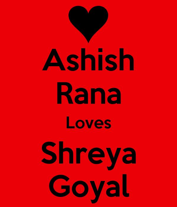 Ashish Rana Loves Shreya Goyal