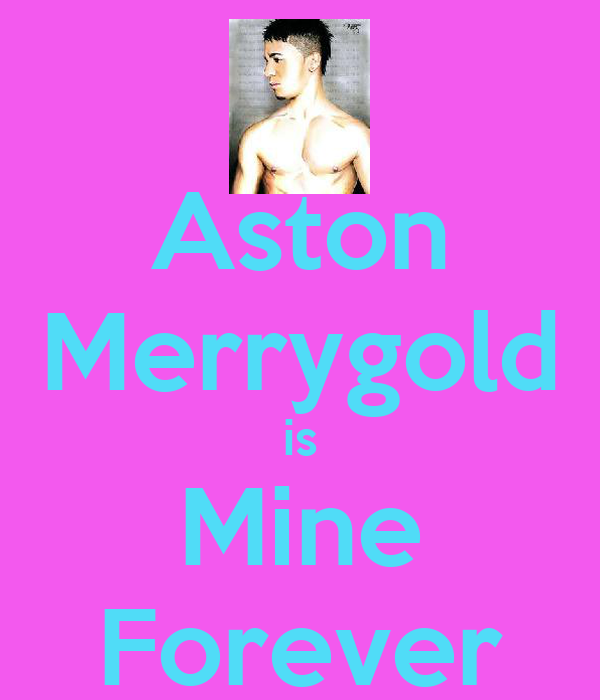 Aston Merrygold is Mine Forever