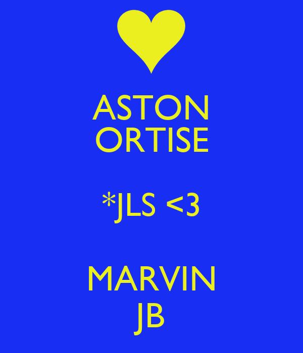 ASTON ORTISE *JLS <3 MARVIN JB