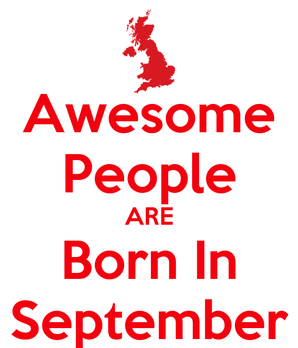Awesome People ARE Born In September Poster | Harry | Keep ...