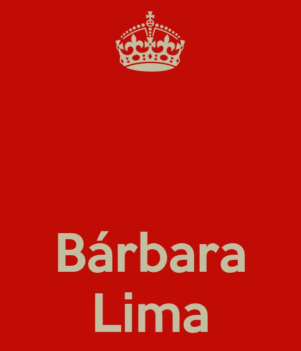 Bárbara Lima