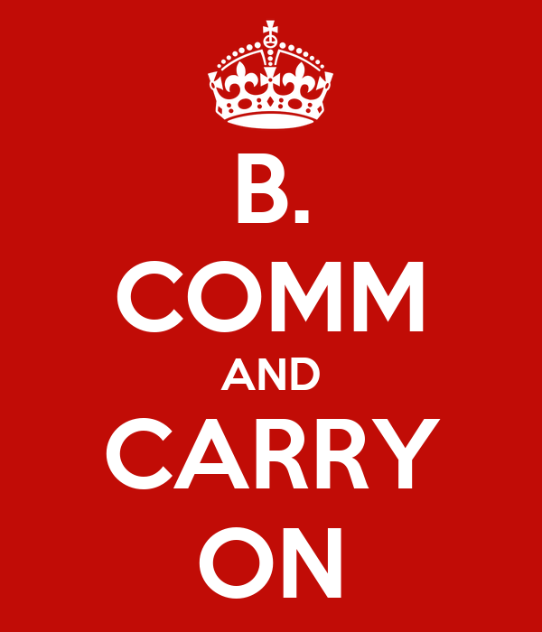 B. COMM AND CARRY ON