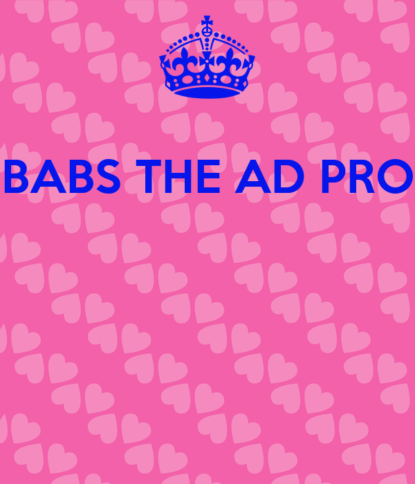 BABS THE AD PRO