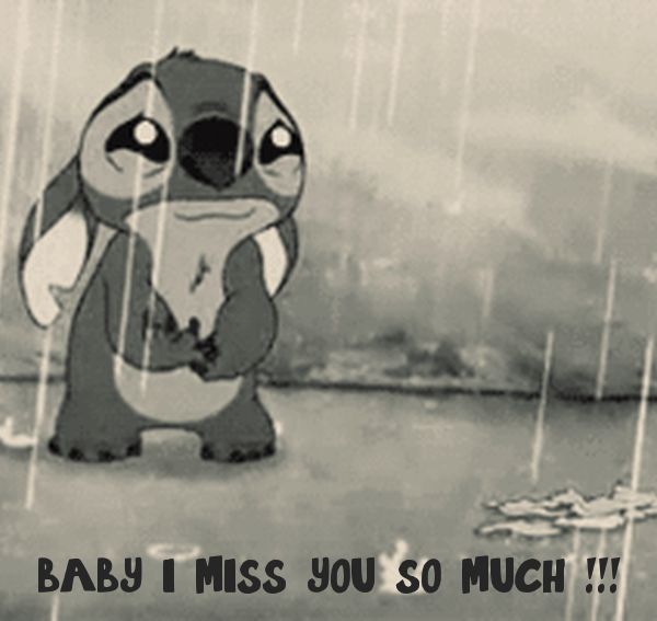 baby i miss you so much !!!