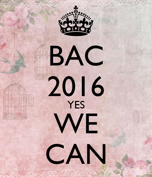 BAC 2016 YES WE CAN