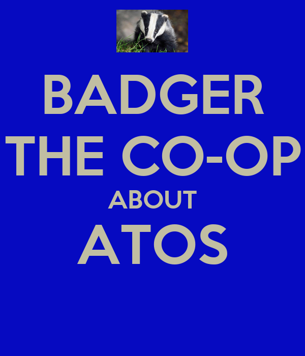 BADGER THE CO-OP ABOUT ATOS
