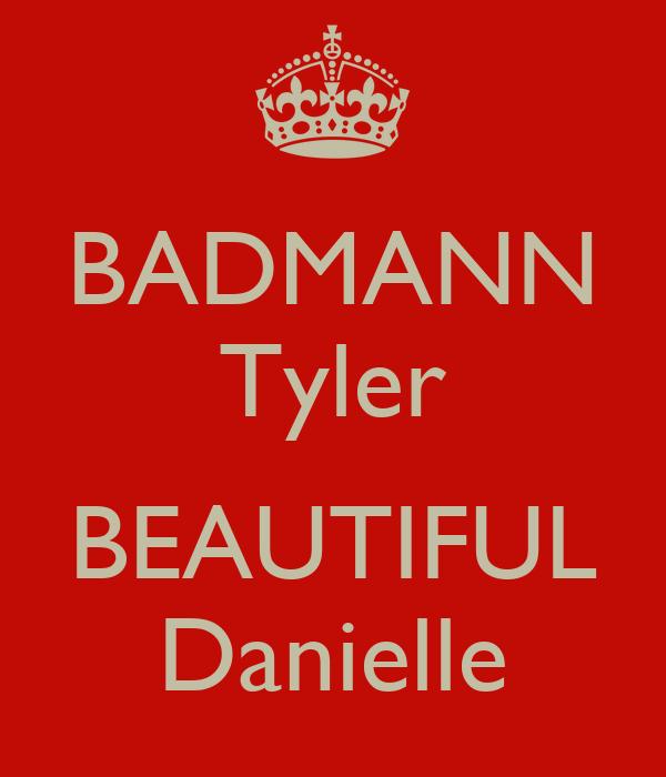 BADMANN Tyler   BEAUTIFUL Danielle