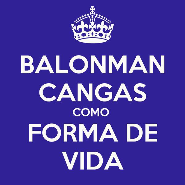 BALONMAN CANGAS COMO  FORMA DE VIDA