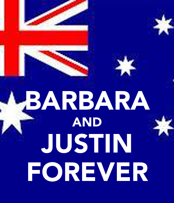 BARBARA AND JUSTIN FOREVER